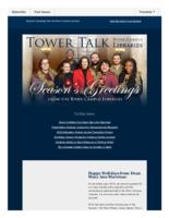 Tower talk (December, 2015)