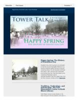 Tower talk (April, 2016)