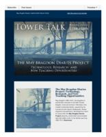 Tower talk (September, 2016)