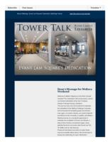 Tower talk (October, 2016)