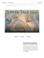 Tower talk (August, 2017)