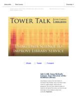 Tower talk (September, 2017)