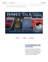 Tower talk (February, 2018)