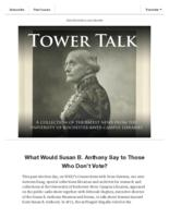 Tower talk (November, 2018)