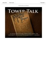 Tower talk (January, 2019)