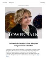 Tower talk (May, 2019)