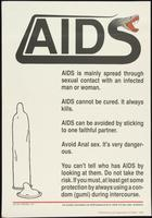 AIDS. AIDS is mainly spread through sexual contact with an infected man or woman. [...]