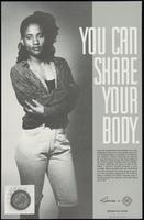 You can share your body