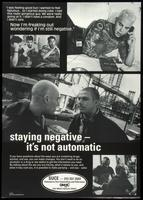 Staying negative - it's not automatic