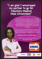"""I am glad I encouraged my partner to go for Voluntary Medical Male Circumcision"""