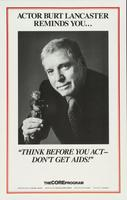 Actor Burt Lancaster reminds you..