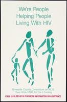 We're people helping people living with HIV