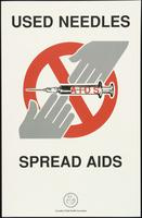 Used needles spread AIDS