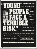 Young people face a terrible risk