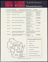 HIV/AIDS Wisconsin resources