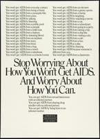 Stop worrying about how you won't get AIDS