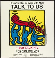 If you're HIV+ or living with AIDS, Talk to us. 1-800 TALK-HIV.  The AIDS hotline