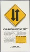 Sexual safety is a two-way street