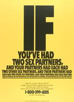 If you've had two sex partners, and your partners had each had two other sex partners, and their partners had each..