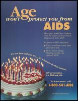 Age won't protect you from AIDS