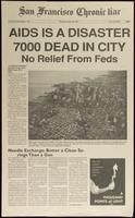 San Francisco Chronic Liar. AIDS is a disaster. 7000 dead in city. No relief from Feds