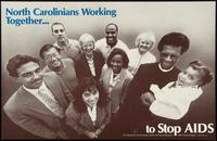 North Carolinians working together... to stop AIDS