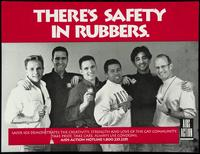 There's safety in rubbers