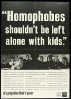 Homophobes shouldn't be left alone with kids