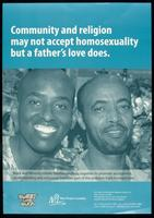Community and religion may not accept homosexuality but a father's love does