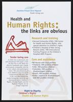 Health and human rights: the links are obvious