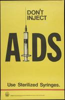 Don't inject AIDS