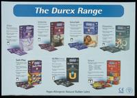 Durex range. Hypo-allergenic natural rubber latex