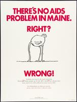 There's no AIDS in Maine. Right? Wrong!