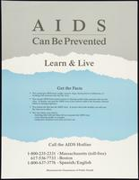 AIDS can be prevented. Learn