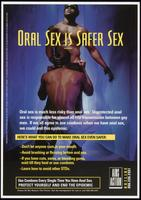 Oral sex is safer sex