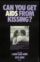 Can you get AIDS from kissing?