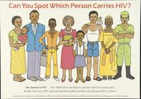 Can you spot which person carries HIV?