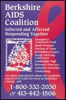 Berkshire AIDS Coalition. Infected and affected responding together