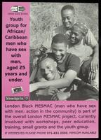 Youth group for African/Caribbean men who have sex with men..