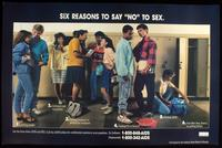 "Six reasons to say ""no"" to sex"