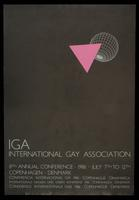 IGA International Gay Association. 8th Annual Conference. 1986. July 7th to 12th. Copenhagen, Denmark