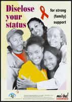 Disclose your status for strong (family) support