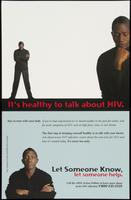 It's healthy to talk about HIV