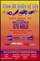 From all walks of life, AIDS Walk '95