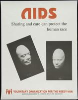 AIDS. Sharing and care can protect the human race