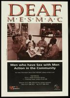 Deaf Mesmac. Men who have sex with men action in the community