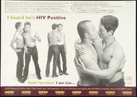 I heard he's HIV positive