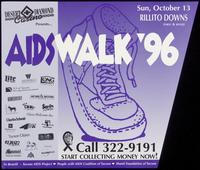 AIDSwalk '96. Start collecting money now!
