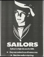 Sailors. Syndey is high risk area for AIDS