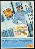 Pam Ann says: 'Condoms? Buy BEFORE you fly!'